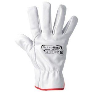 guanti in pelle fiore