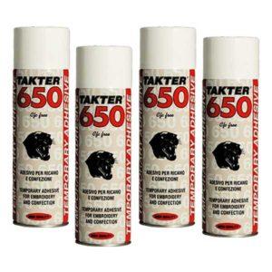 adesivo spray temporaneo 650