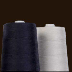 filato poliestere ricoperto in cotone